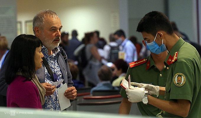 entry procedures to Vietnam