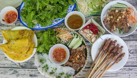 Food in Da Nang