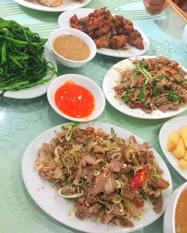 Do not forget to enjoy Ninh Binh goat meat, all delicious.