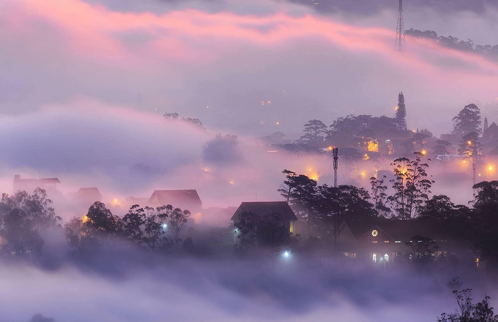 In October, on the misty land of Da Lat